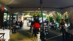 Outdoor sales at Jules@Market