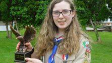 Eagle Scout Sarah Elizabeth Hogan