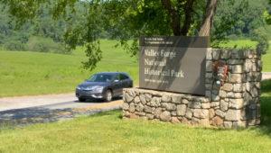 Valley Forge National Park Entrance