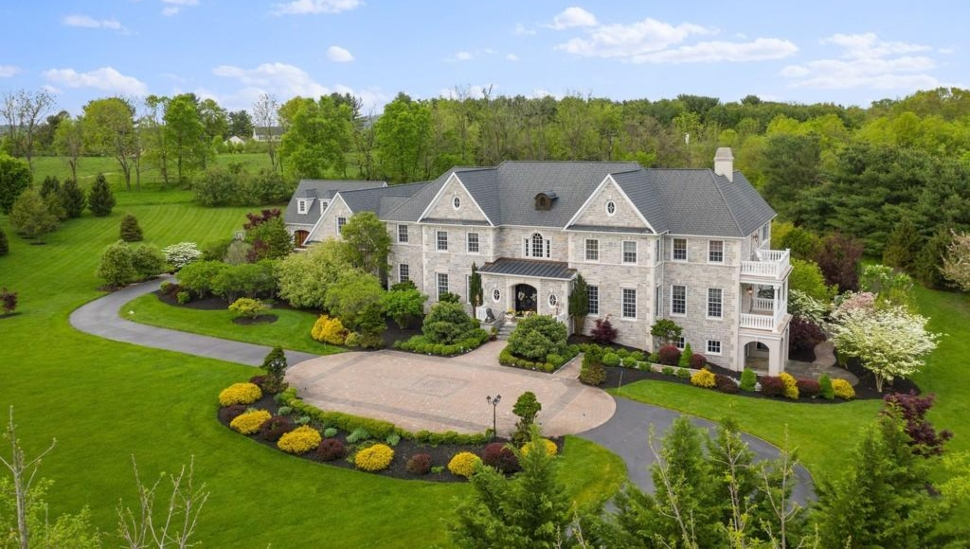 Washington Crossing mansion
