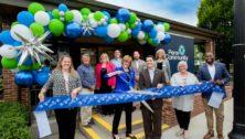 Ribbon-Cutting ceremony at Penn Community Bank's refurbished branch in Perkasie