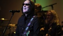 Todd Rundgren performing. He has been inducted into the Rock & Roll Hall of fame