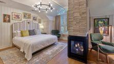 A romantic suite at River House at Odette'sHouse