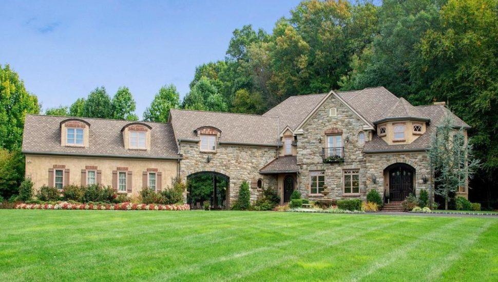 Meridian Bank House of the Week Doylestown Tuscan mansion
