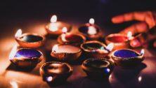 Diwali diya are lit to symbolize purification