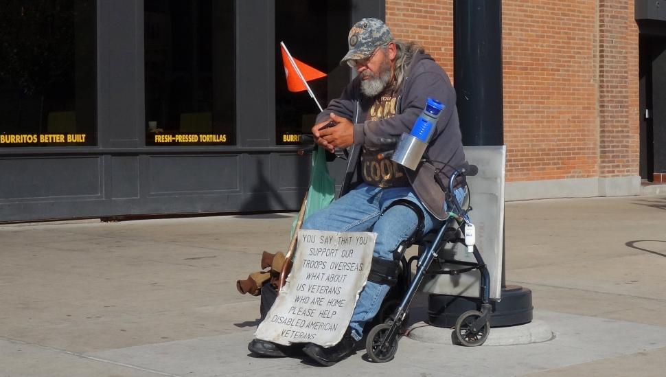 Bucks County homeless veterans