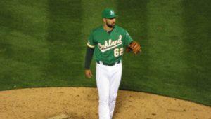 Lou Trivino, Oakland Athletics pitcher