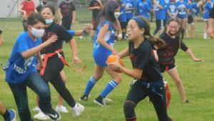 Eleanor Roosevelt Elementary School flag football game