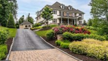 Former Philadelphia Phillies Cole Hamels and wife Heidi are selling their Newtown Square home, shown here.