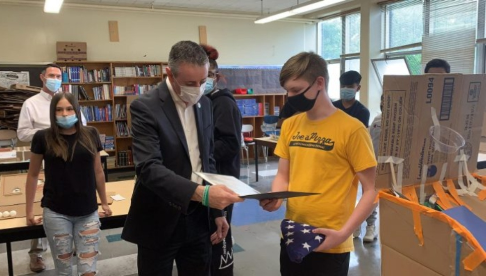 State Congressional Record Recognizes Big Heart, Generous Spirit of 13-Year-Old Bicycle Repairman