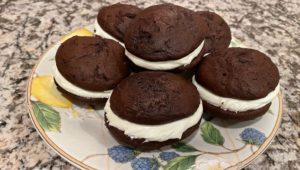 Whoopie Pies, a Pennsylvania Dutch lunch dessert born of a waste-not-want-not-era.