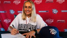 Carley Barjaktarovich IronPigs shortstop