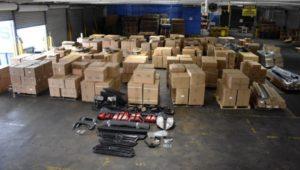 Border-Patrol seized counterfeit auto parts en route to Feasterville-Trevose
