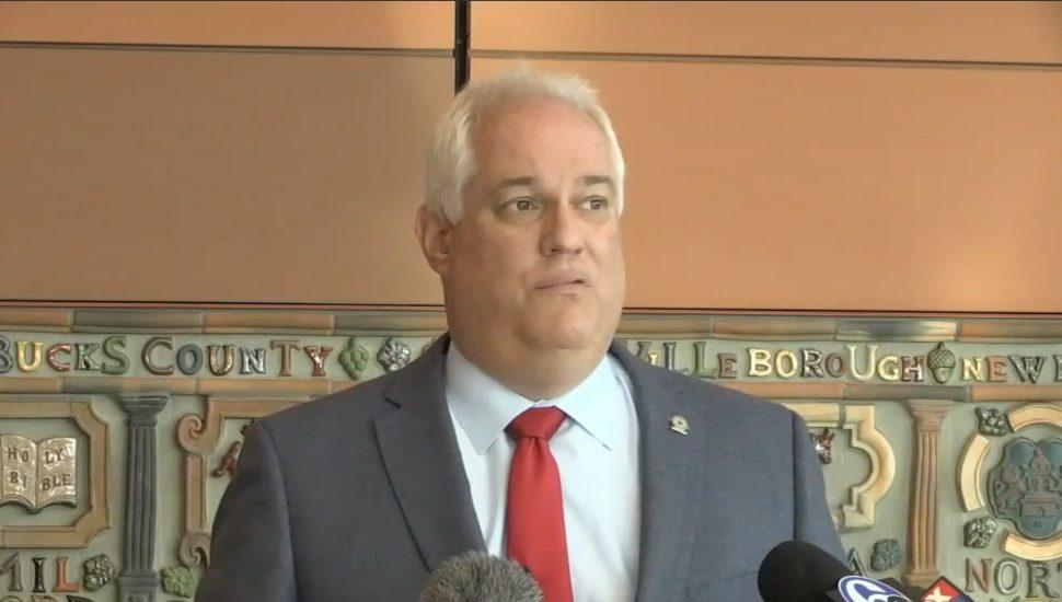 Bucks County District Attorney Matt Weintraub