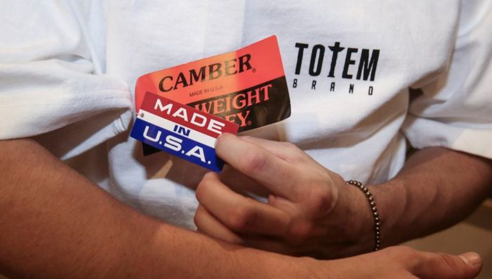 USA camber shirts at totem in philly