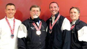 Jim Flint, USA Fencing National Championship bronze medalist