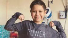 Nine-year-old Goodnoe Elementary student Carolyn Austin