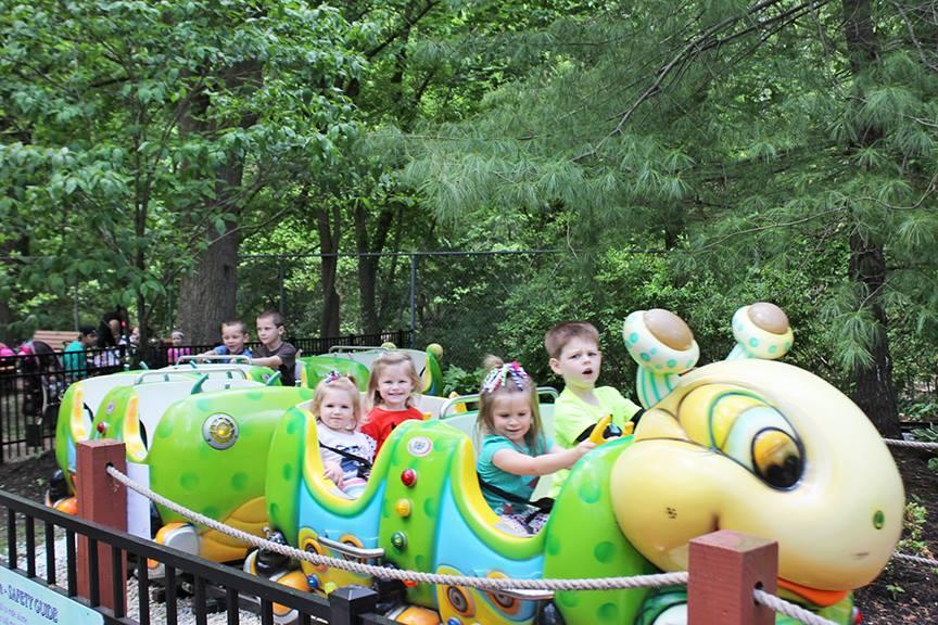 Elmwood Park Zoo Butterfly Train