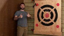 Ax throwing Bucks County