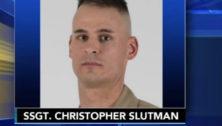 US. Marine Staff Sgt. Christopher K.A. Slutman