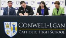 education officials sign agreement