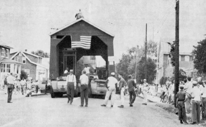 Moving the South Perkasie Bridge